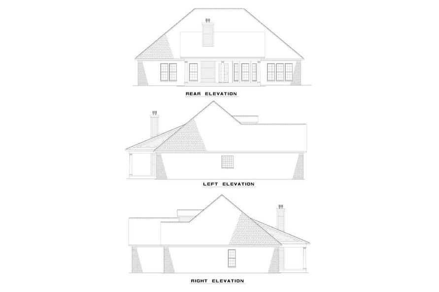 Home Plan Other Image of this 4-Bedroom,1880 Sq Ft Plan -153-1582