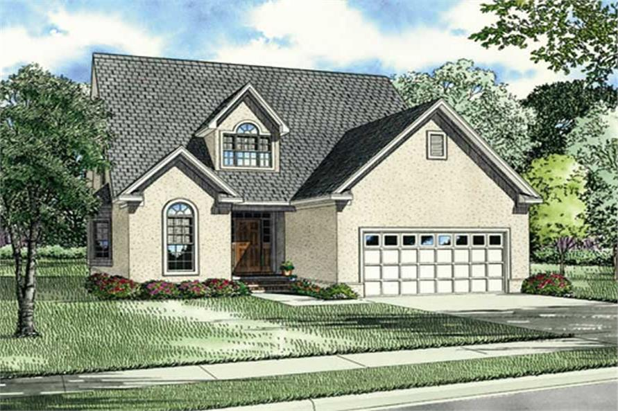 Main image for house plan # 3907