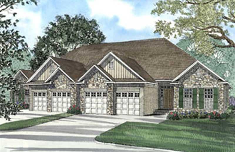 Multi Unit House Plan 153 1585 6 Bedrm 3040 Sq Ft Per