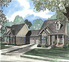 House Plan #153-1594