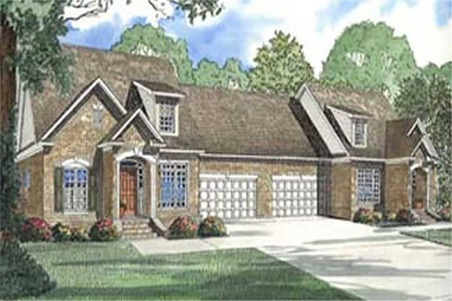Main image for house plan # 3969