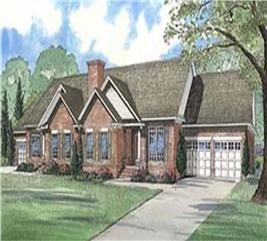 House Plan #153-1597