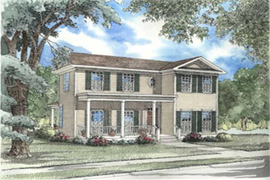 Main image for house plan # 3978