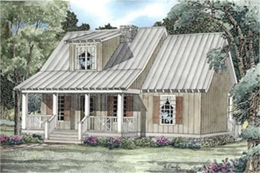 153-1601: Home Plan Rendering