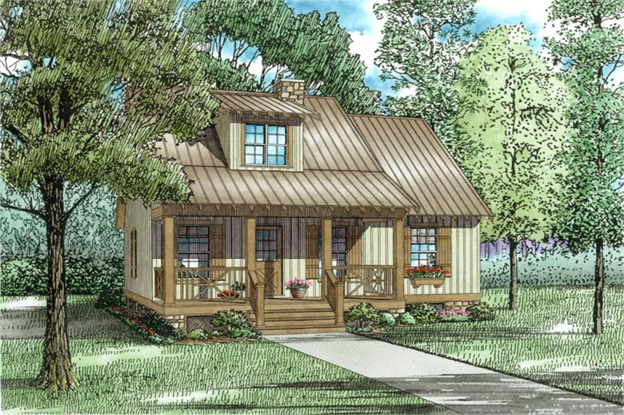 Main image for cabin house plan # 153-1601