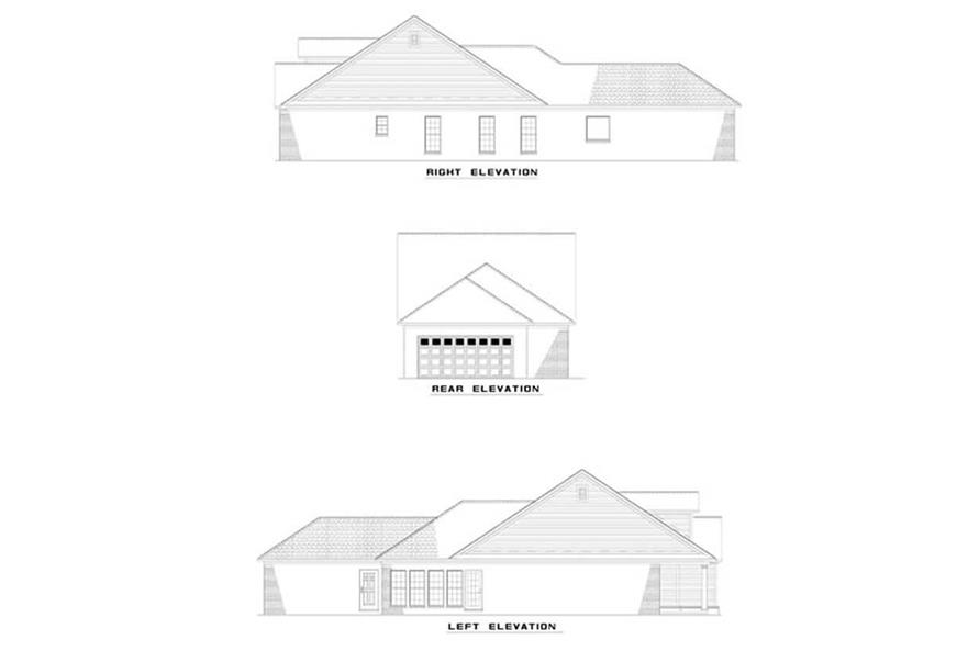 Home Plan Other Image of this 3-Bedroom,1370 Sq Ft Plan -153-1603
