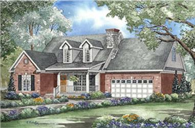 Main image for house plan # 4001