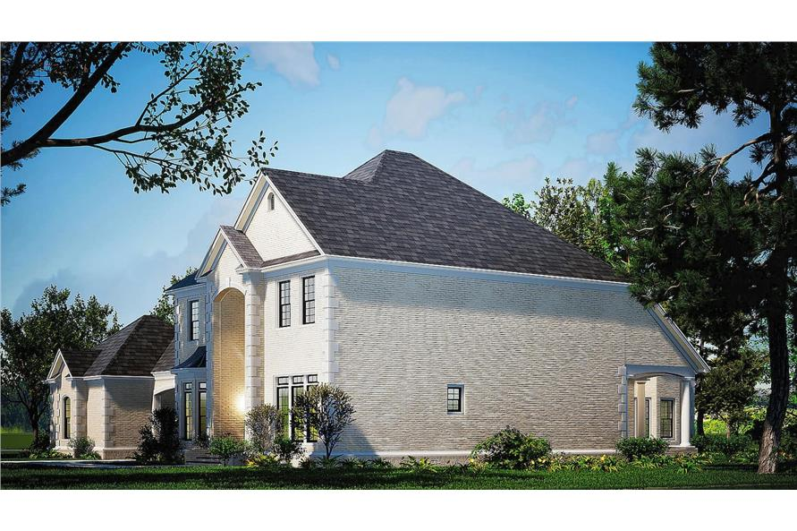 Right View of this 4-Bedroom,5009 Sq Ft Plan -153-1612