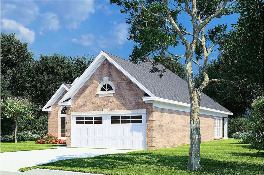 Right View of this 3-Bedroom,1608 Sq Ft Plan -153-1614