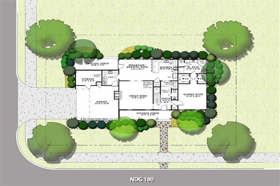 Home Plan Aux Image of this 3-Bedroom,2320 Sq Ft Plan -153-1617