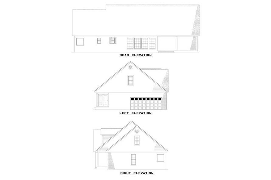 Home Plan Other Image of this 3-Bedroom,2320 Sq Ft Plan -153-1617