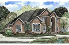 Main image for house plan # 4075
