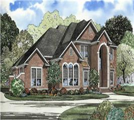 House Plan #153-1618
