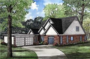 3-Bedroom, 3730 Sq Ft Craftsman House Plan - 153-1619 - Front Exterior