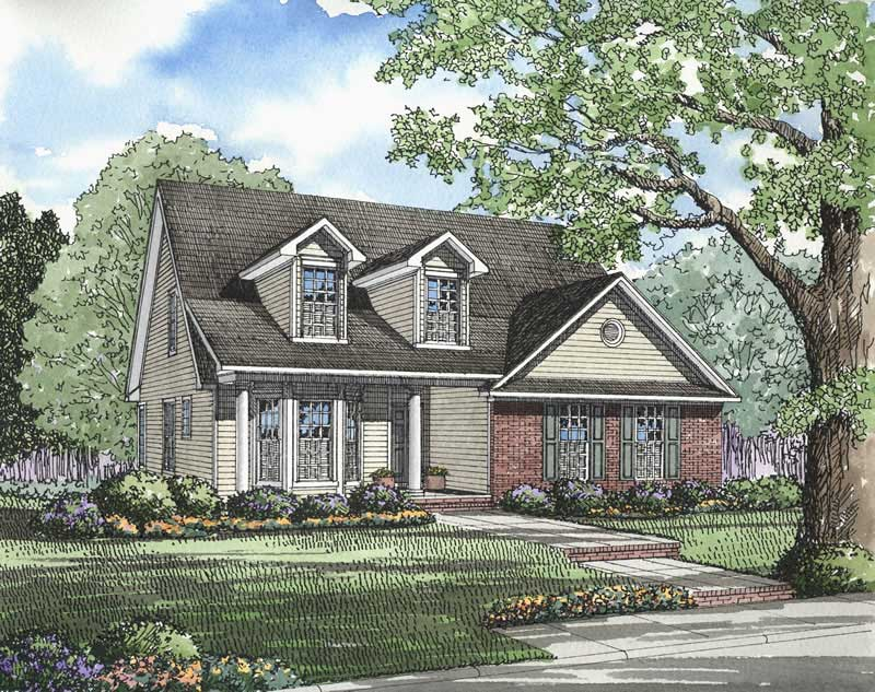 Traditional Southern House Plans Home Design Ndg 274 3333