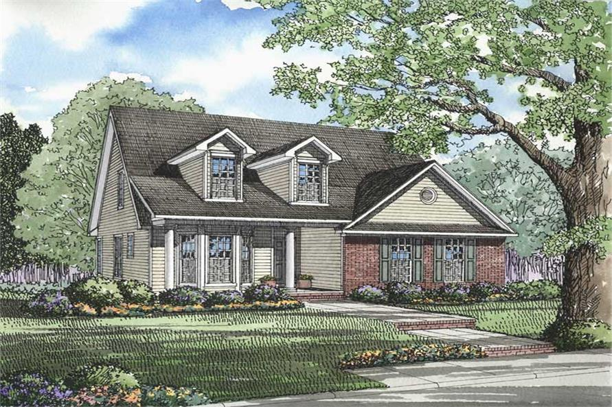 Main image for house plan # 3333