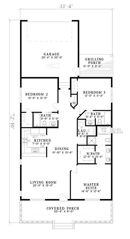 153-1621: Floor Plan Main Level