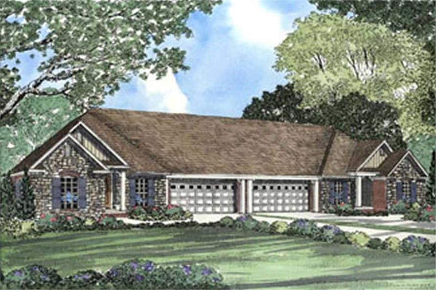 Main image for house plan # 3925