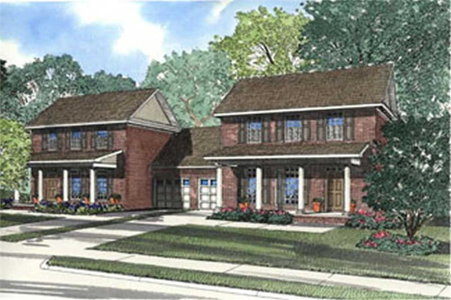Main image for house plan # 3941