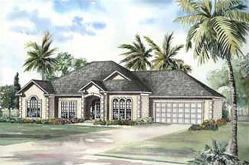 Main image for house plan # 3717