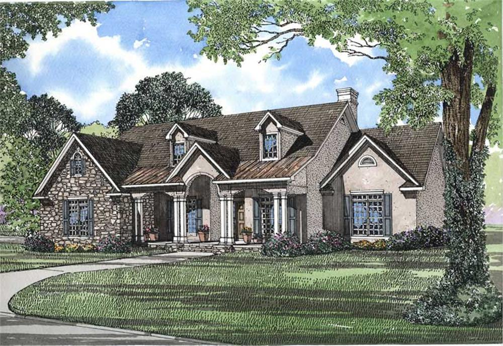 Main image for house plan # 3565