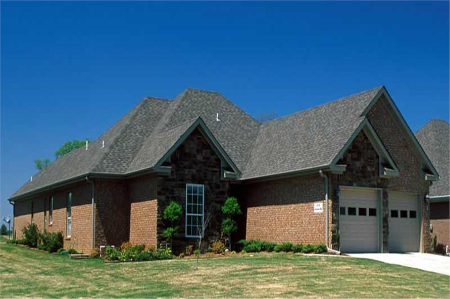 Home Exterior Photograph of this 3-Bedroom,1601 Sq Ft Plan -1601