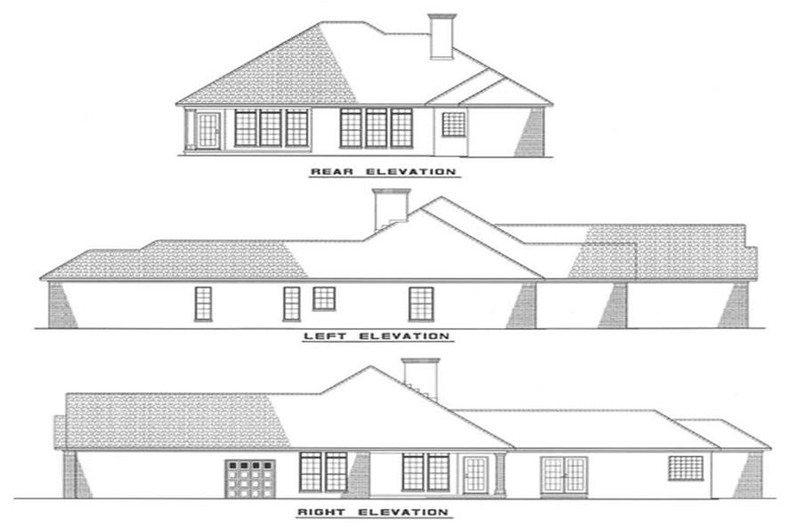 Home Plan Other Image of this 3-Bedroom,1601 Sq Ft Plan -153-1631
