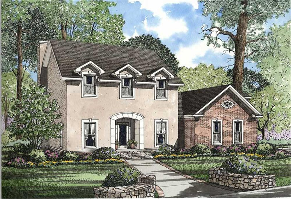 Main image for house plan # 3567
