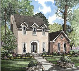 House Plan #153-1632