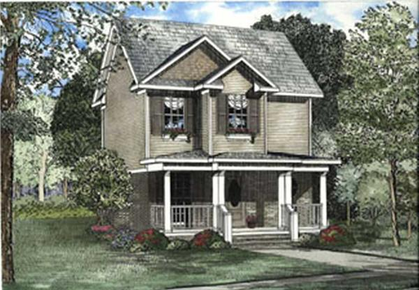 Main image for house plan # 3810