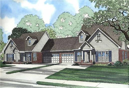 Main image for house plan # 3933