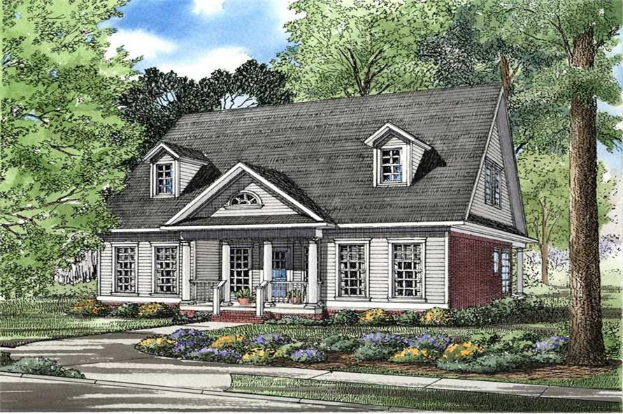 Main image for house plan # 3589