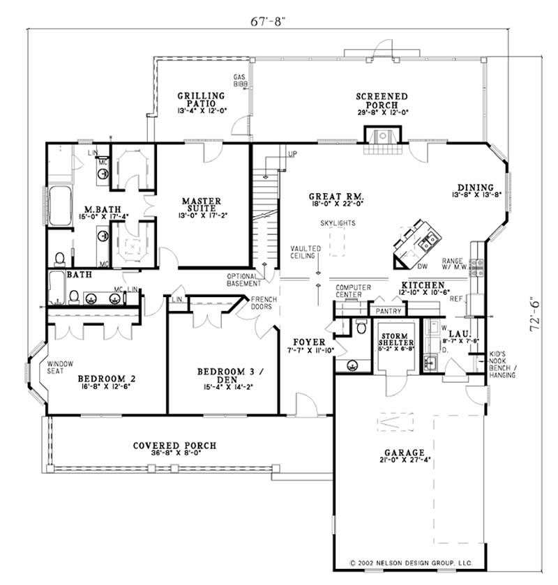 Country Farmhouse House Plans Home Design Olive Street