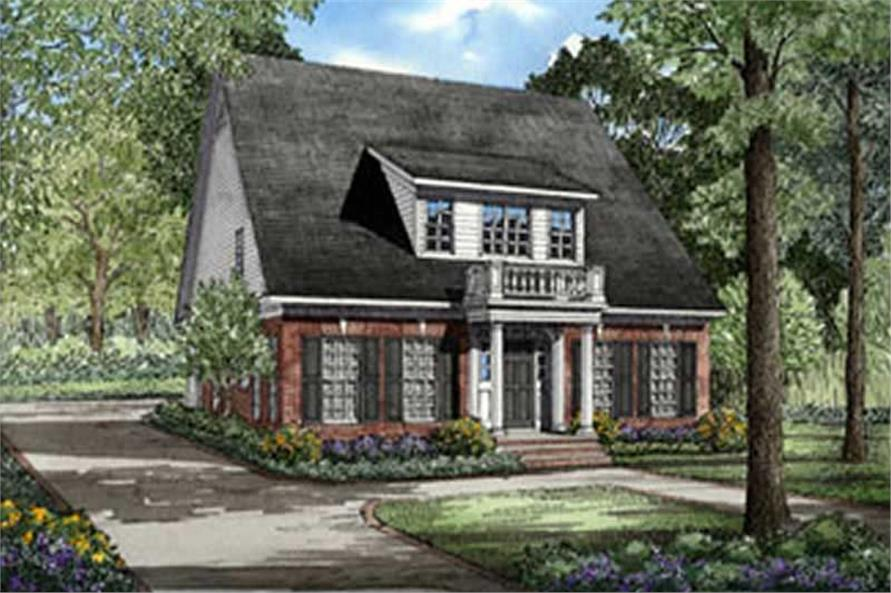 Main image for house plan # 3296