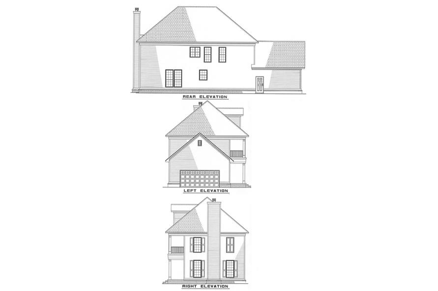 Home Plan Other Image of this 3-Bedroom,2247 Sq Ft Plan -153-1642