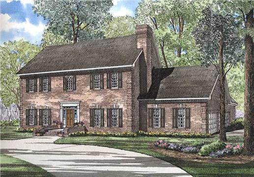 Main image for house plan # 3587