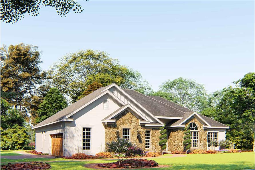 Left View of this 4-Bedroom,1989 Sq Ft Plan -153-1645