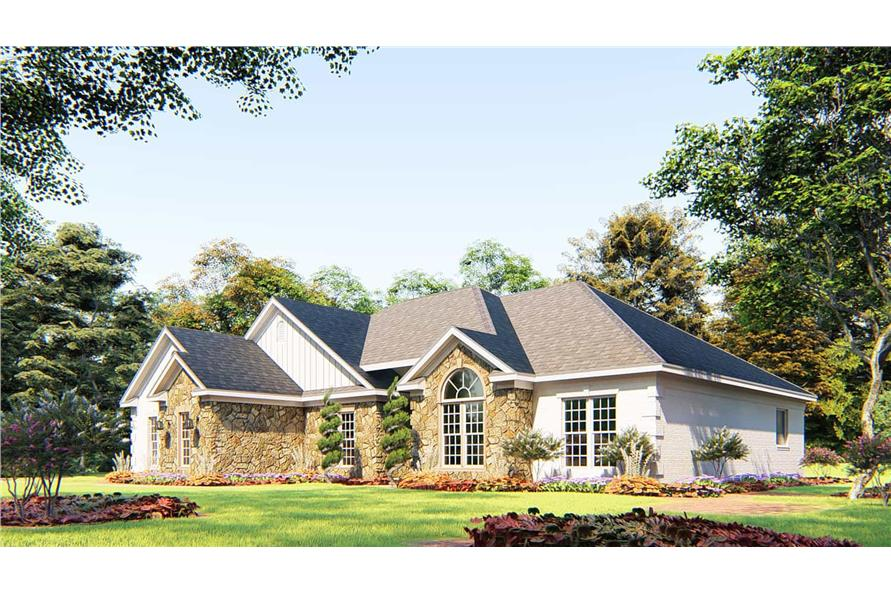 Right View of this 4-Bedroom,1989 Sq Ft Plan -153-1645