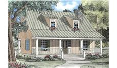 Main image for house plan # 3953