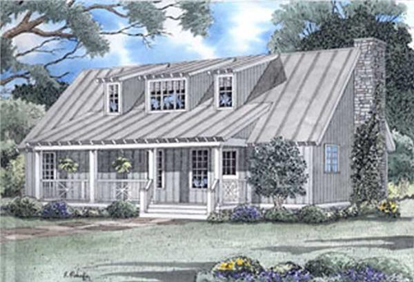 Main image for house plan # 3956