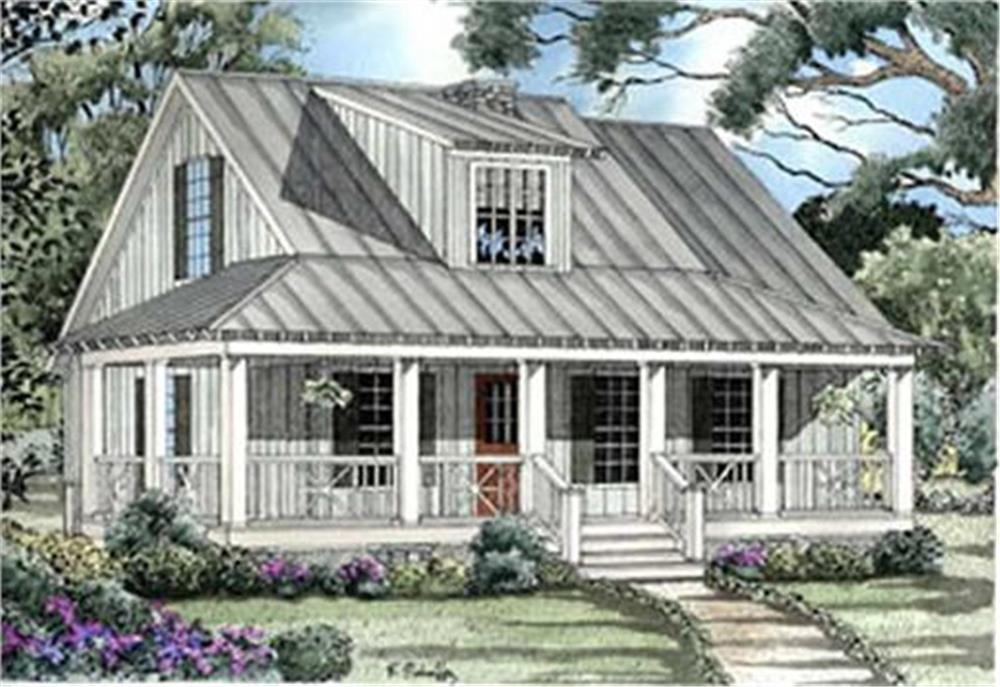 153-1651: Home Plan Rendering