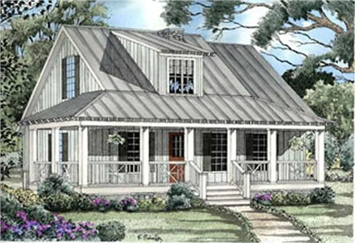 Main image for house plan # 3957