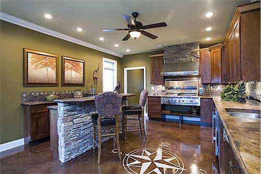 Kitchen of this 3-Bedroom,3593 Sq Ft Plan -153-1654
