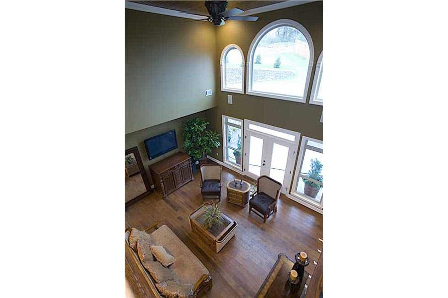 Great Room: Windows of this 3-Bedroom,3593 Sq Ft Plan -153-1654