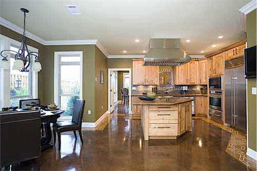Kitchen: Breakfast Nook of this 3-Bedroom,3593 Sq Ft Plan -153-1654