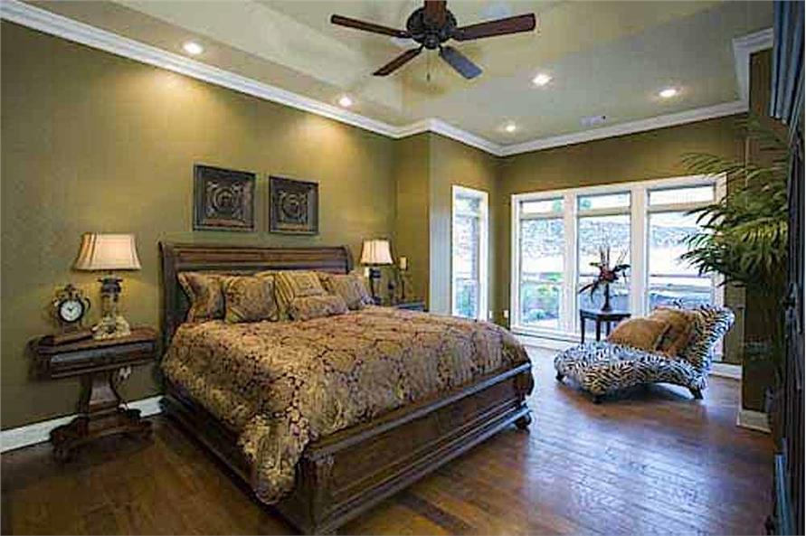 Master Bedroom of this 3-Bedroom,3593 Sq Ft Plan -153-1654
