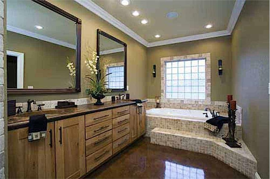 Master Bathroom of this 3-Bedroom,3593 Sq Ft Plan -153-1654