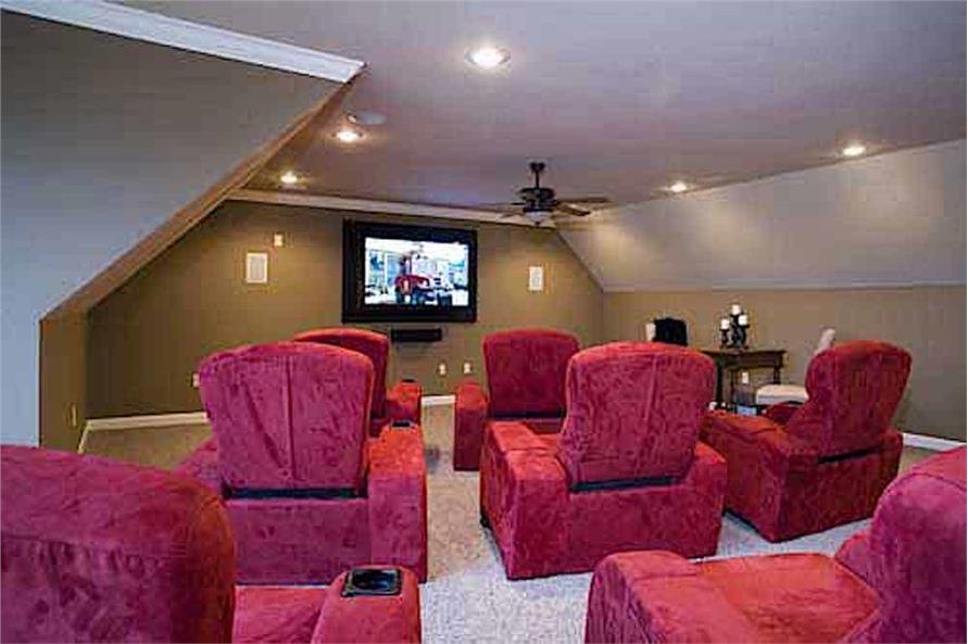 Bonus Room of this 3-Bedroom,3593 Sq Ft Plan -153-1654