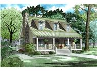 Main image for vacation house plan # 153-1656