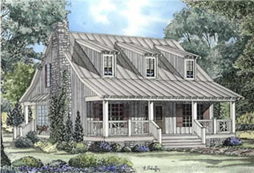 Main image for house plan # 3958